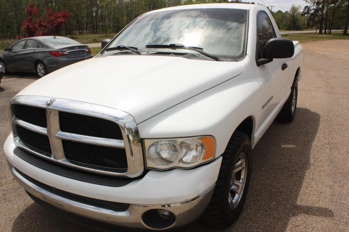 2003 White /grey Dodge Ram 1500 SLT 2WD (1D7HA16N63J) with an 4.7L V8 SOHC 16V engine, automatic transmission, located at 401 First NE, Bearden, AR, 71720, (870) 687-3414, 33.726528, -92.611519 - Photo #0